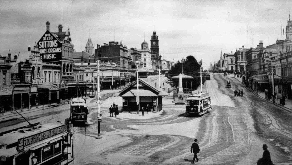 Beginnings of Ballarat