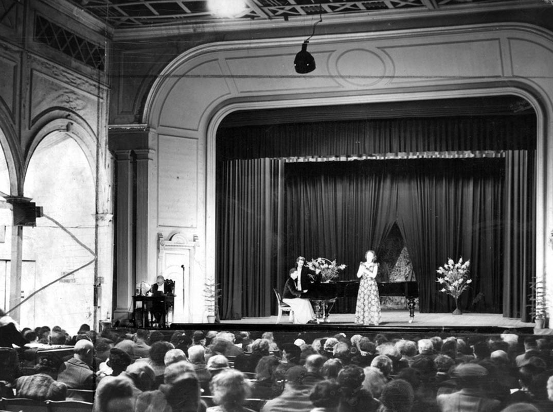Inside Alfred Hall